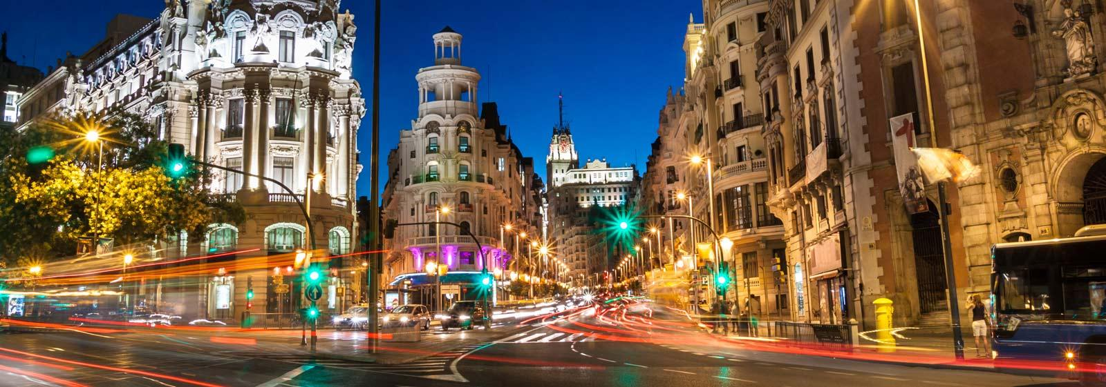 Madrid city breaks